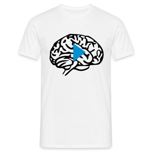 Press play on Brain - Maglietta da uomo