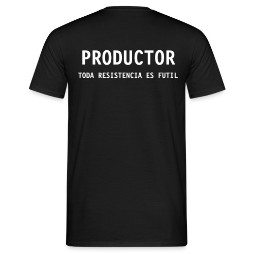 Productor Borg - Men's T-Shirt
