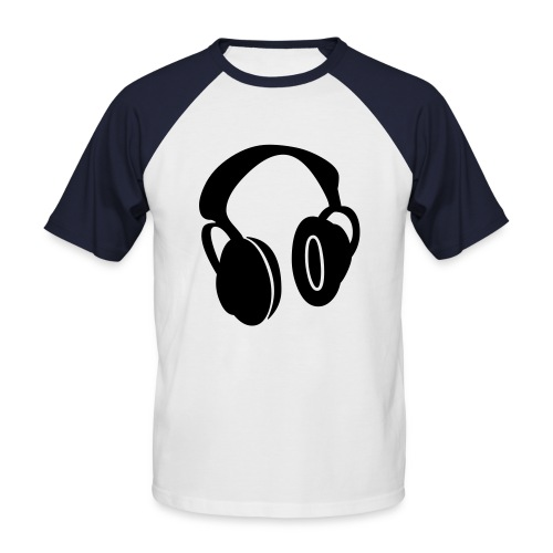 Mix Tape - T-shirt baseball manches courtes Homme