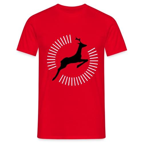 Superhirsch - Männer T-Shirt
