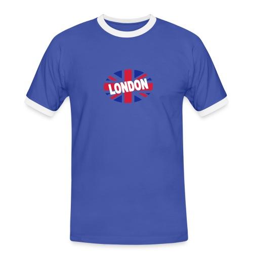 Tee-shirt happy Union-Jack - T-shirt contrasté Homme