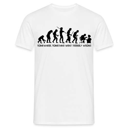 Tee-shirt Notre évolution!! - T-shirt Homme
