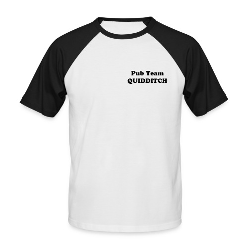 'Pub Team Quidditch Captain' Mens Sporty Tee - Men's Baseball T-Shirt