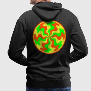 SPaCE-SHirT BlackLight-series Twisted Minds 2 - Männer Premium Hoodie