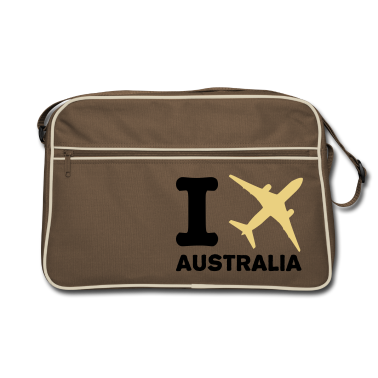 Brown / sand I fly - Australia - travel Bags