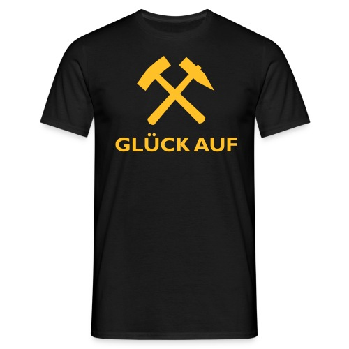 GLÜCK AUF - Männer T-Shirt