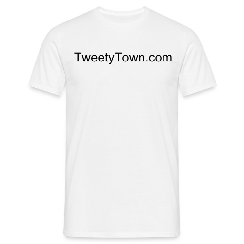 TweetyTown.com Shirt - Mannen T-shirt