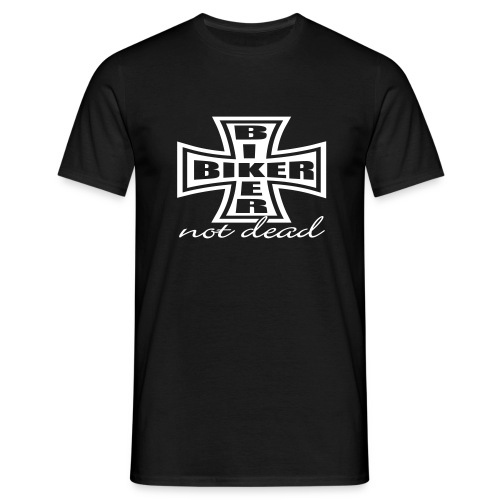 Biker not dead|T-shirts harley biker - T-shirt Homme