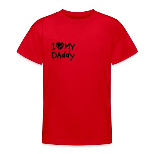 Camiseta bebé unisex roja - Camiseta adolescente