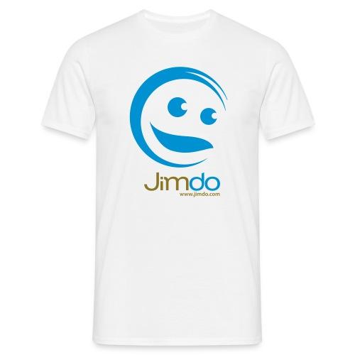 Jimdo T-Shirt (großes Logo vorne) - Männer T-Shirt