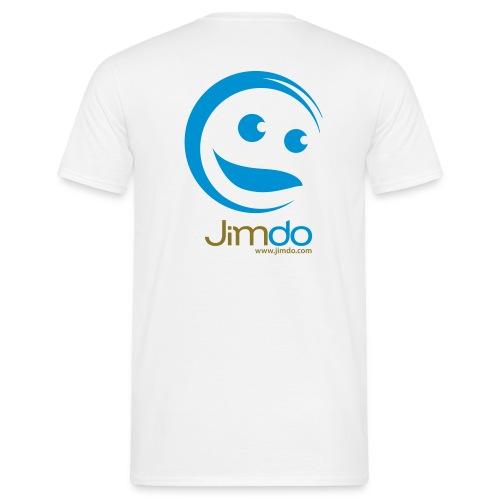 Jimdo T-Shirt (großes Logo hinten) - Männer T-Shirt