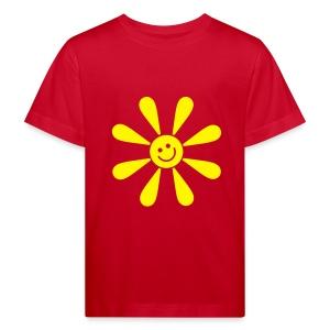 Lasten paita organic HAPPY SUN - valitse väri! - Lasten luonnonmukainen t-paita