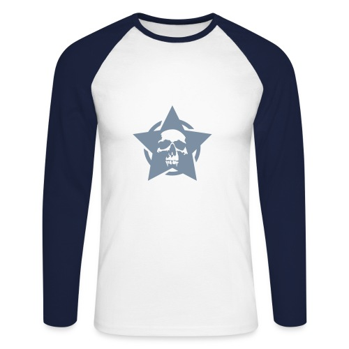 maillot cheval - T-shirt baseball manches longues Homme