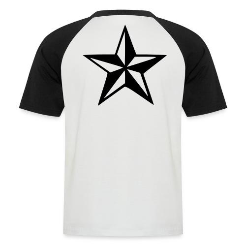 ESTRELLA PUNK - Camiseta béisbol manga corta hombre