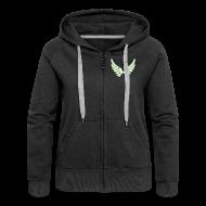Pullover & Hoodies ~ Frauen Premium Kapuzenjacke ~ Kapuzenjacke Girlie Glow