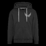 Pullover & Hoodies ~ Männer Premium Kapuzenjacke ~ Kapuzenjacke AGF Grau