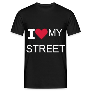 i love my street - T-shirt Homme
