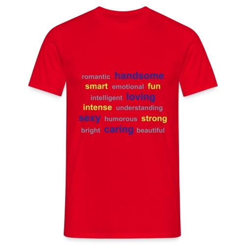 T-shirt med tryck - T-shirt herr