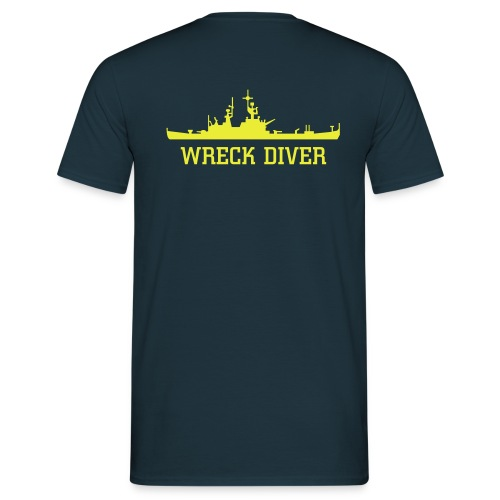 WRECK DIVER - Men's T-Shirt