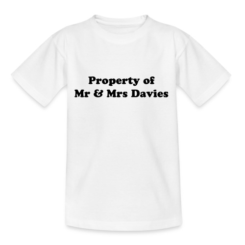 Property Of - Teenage T-shirt
