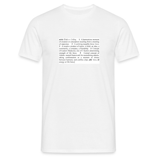 Dictionary Definition T Shirt - Men's T-Shirt