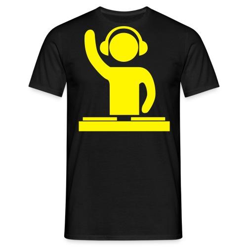 dj tee - Mannen T-shirt