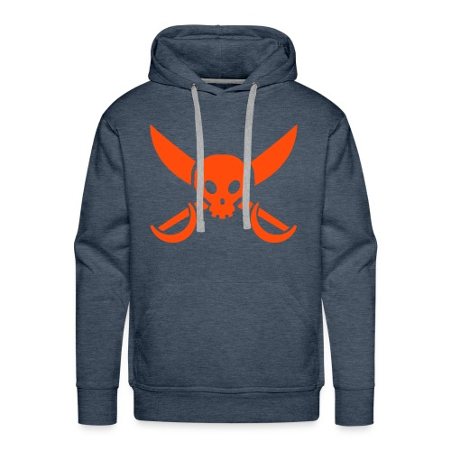 the roll-neck sweater  - Men's Premium Hoodie