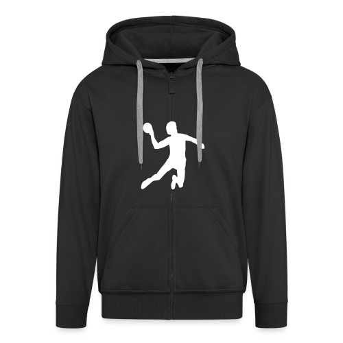 the roll-neck sweater  - Men's Premium Hooded Jacket