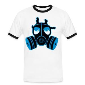 bio-death - Kontrast-T-skjorte for menn