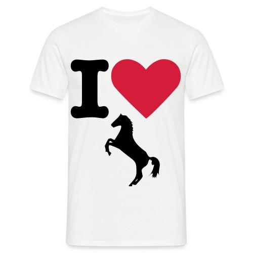 För den hästgalne  - T-shirt herr