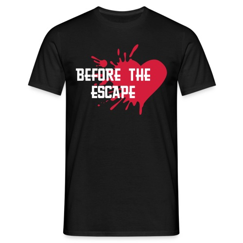Heart Escape Black! - Men's T-Shirt
