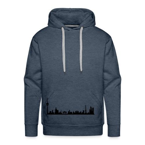 Berlin Skyline Hoody - Männer Premium Hoodie