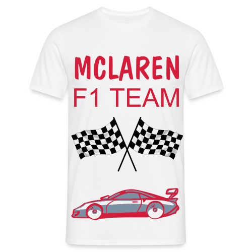 MCLAREN F1 TEAM TOP - Men's T-Shirt