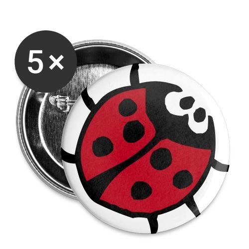 julegaver ^^ - Stor pin 56 mm (5-er pakke)