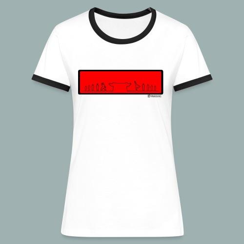 Temple femme - T-shirt contrasté Femme