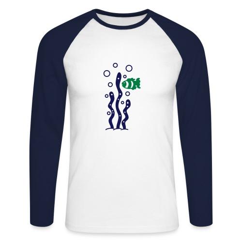 Aquatic'shirt - T-shirt baseball manches longues Homme