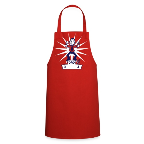 Father's day, Dad is no 1 - Cooking Apron