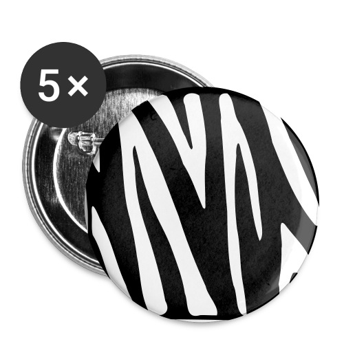 Buttons - Stor pin 56 mm (5-er pakke)