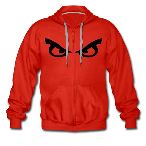evil eyed hoodie - Men's Premium Hooded Jacket