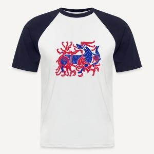 Motyw skandynawski - Koszulka bejsbolowa męska