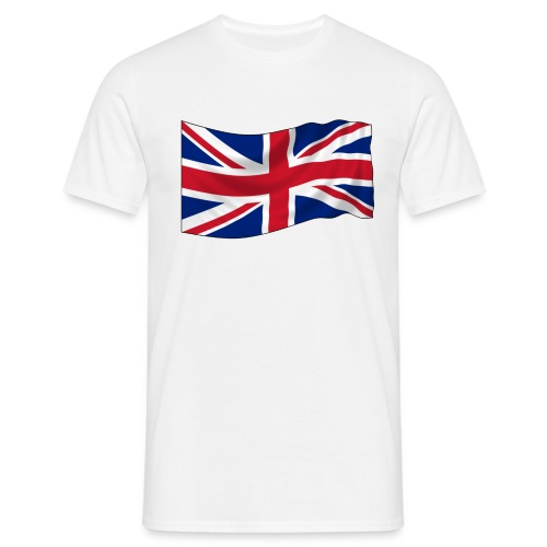 Brittish flag t shirt - Men's T-Shirt