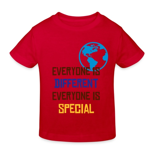 Everyone is special - red - T-shirt bio Enfant