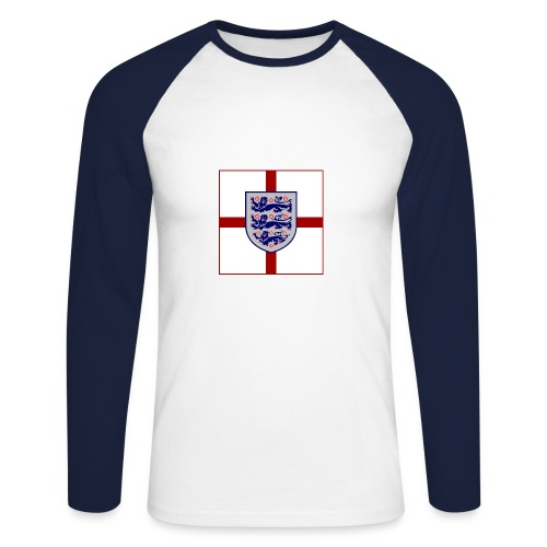 EN_4 - Men's Long Sleeve Baseball T-Shirt