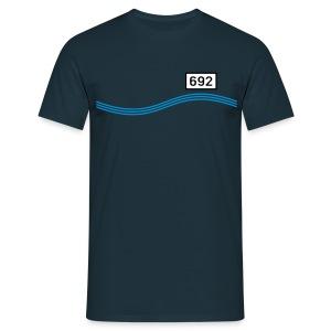 Rheinkilometer 692 - Männer T-Shirt