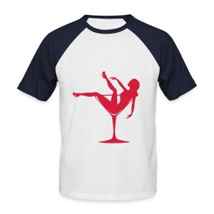 Femme alcool - T-shirt baseball manches courtes Homme