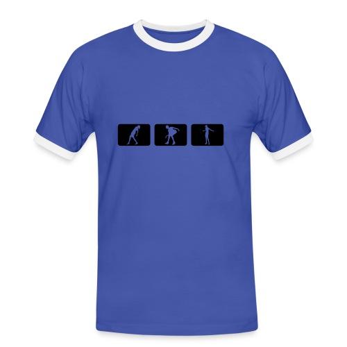 SlimTee Dschungs - Männer Kontrast-T-Shirt