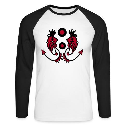 PranaBoy Cosmyc Fashion - Männer Baseballshirt langarm