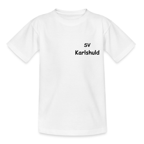 Kinder T-Shirt klassisch SV Karlshuld - Teenager T-Shirt