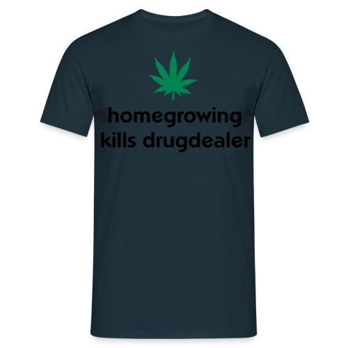 Homegrowing - Männer T-Shirt