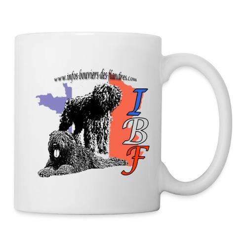 mug IBF 3 - Mug blanc